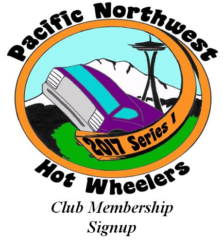 Pacific Northwest Hot Wheelers Club Membership Signup