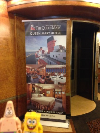 on the Queen Mary