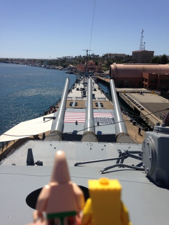 on the USS Iowa